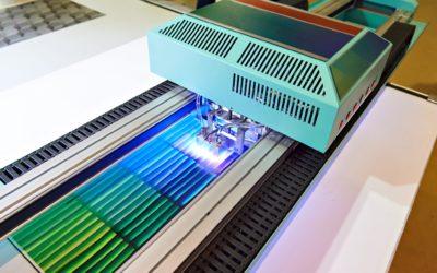 Large format UV coating printer