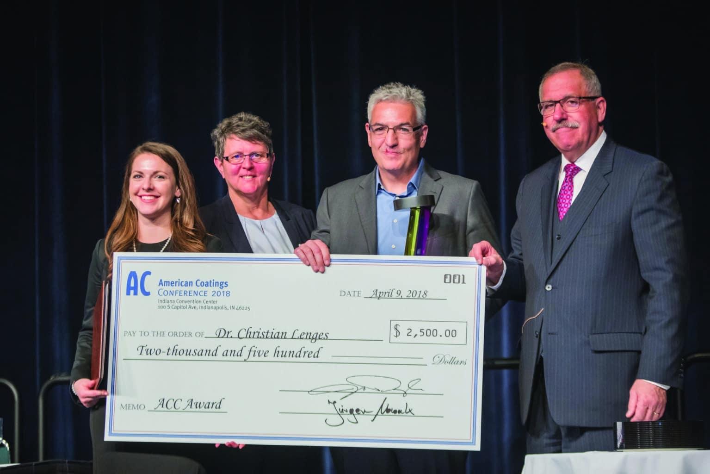Dr Christian Lenges receives ACC Award