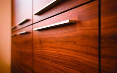 detail of modern furniture