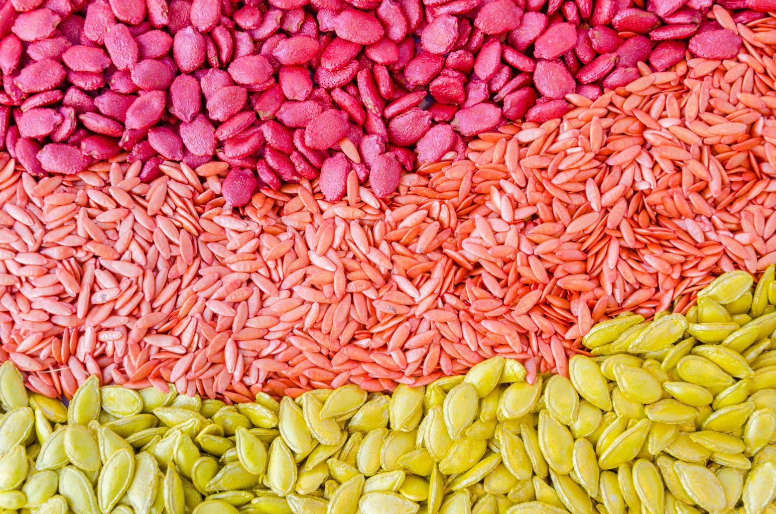 Colorful seeds texture using as background