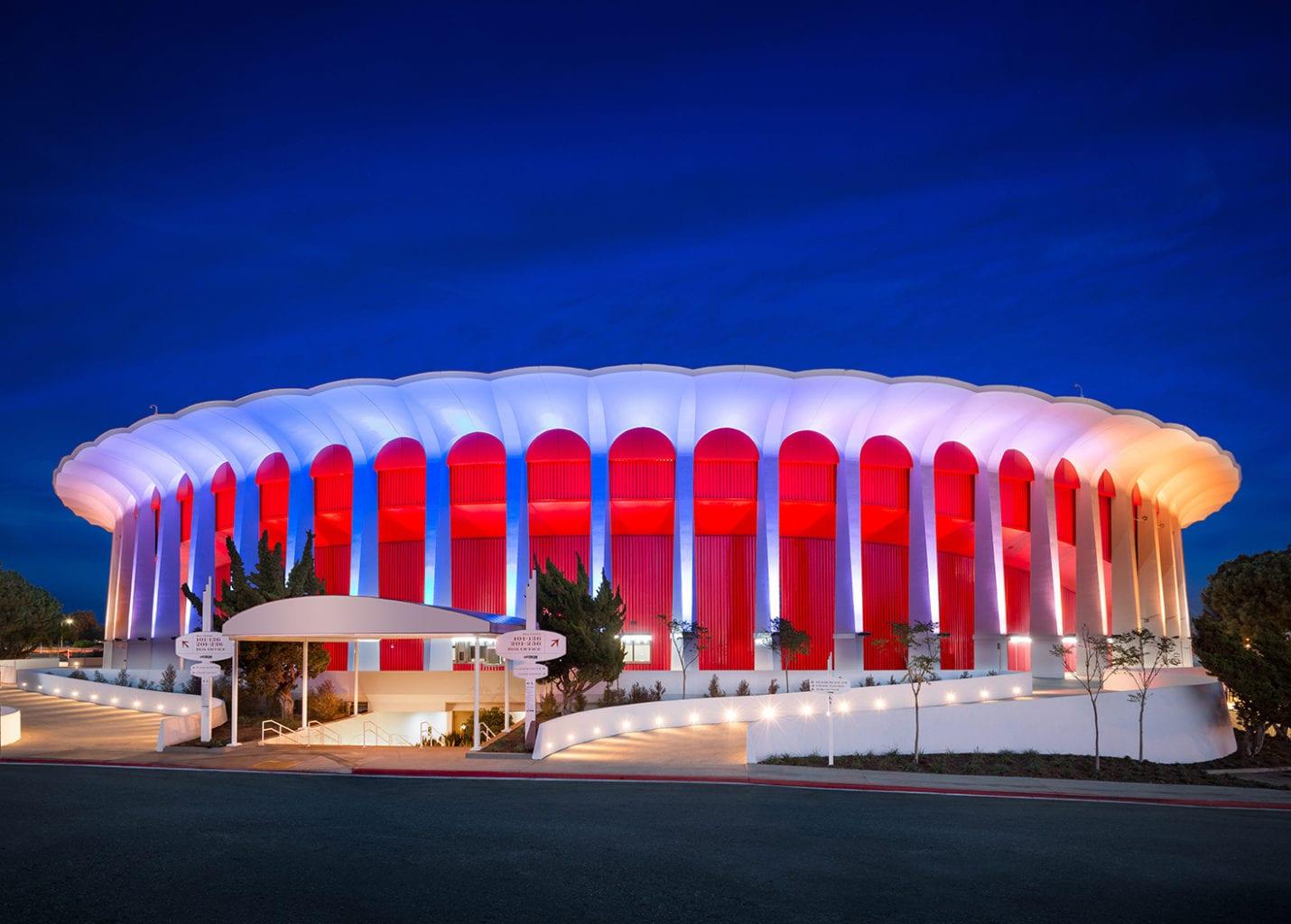 The Forum in Inglewood California.