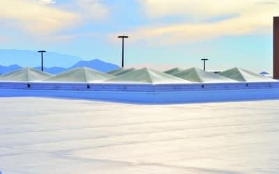 Hollow Thermoplastic Microspheres in Elastomeric Cool Roof Coatings
