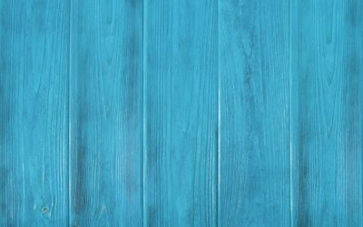 mpty blue wooden background, texture with copy space