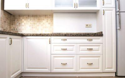 Luxury modern white kitchen