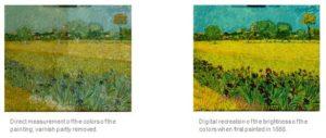 Van Gogh Digital Reconstruction
