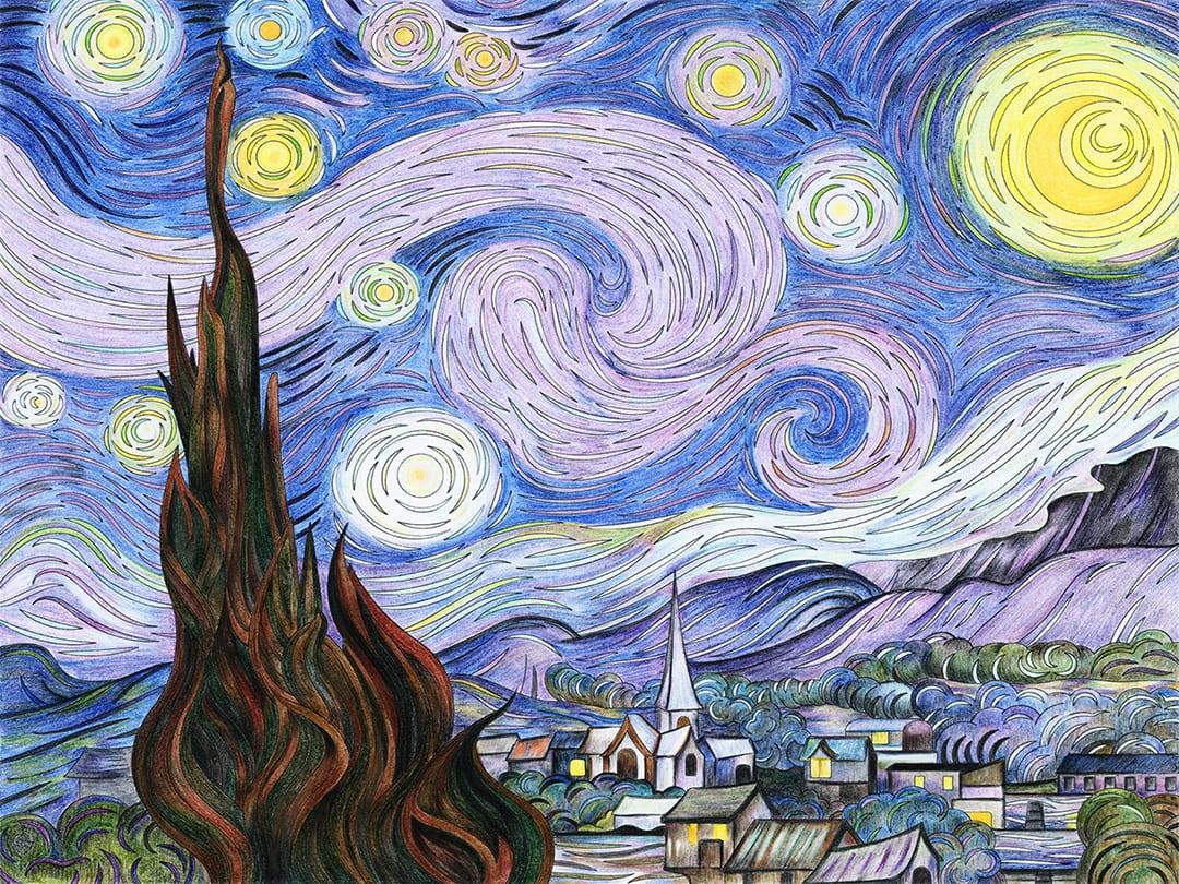 A Fresh Look at Faded Van Gogh Paintings - American Coatings Association