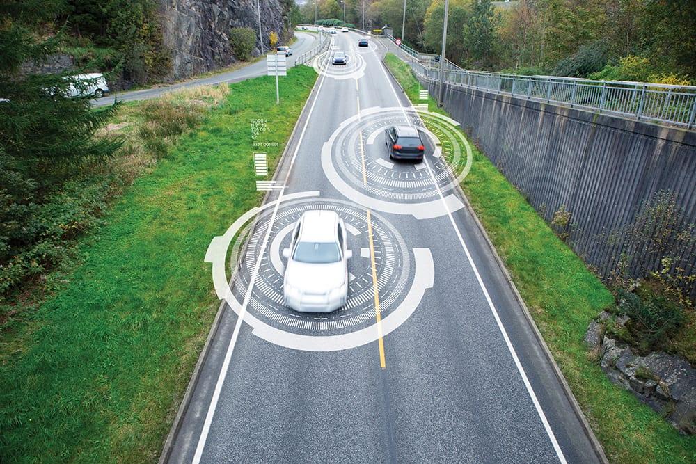 Vehicle to vehicle communication. Data exchange between cars.