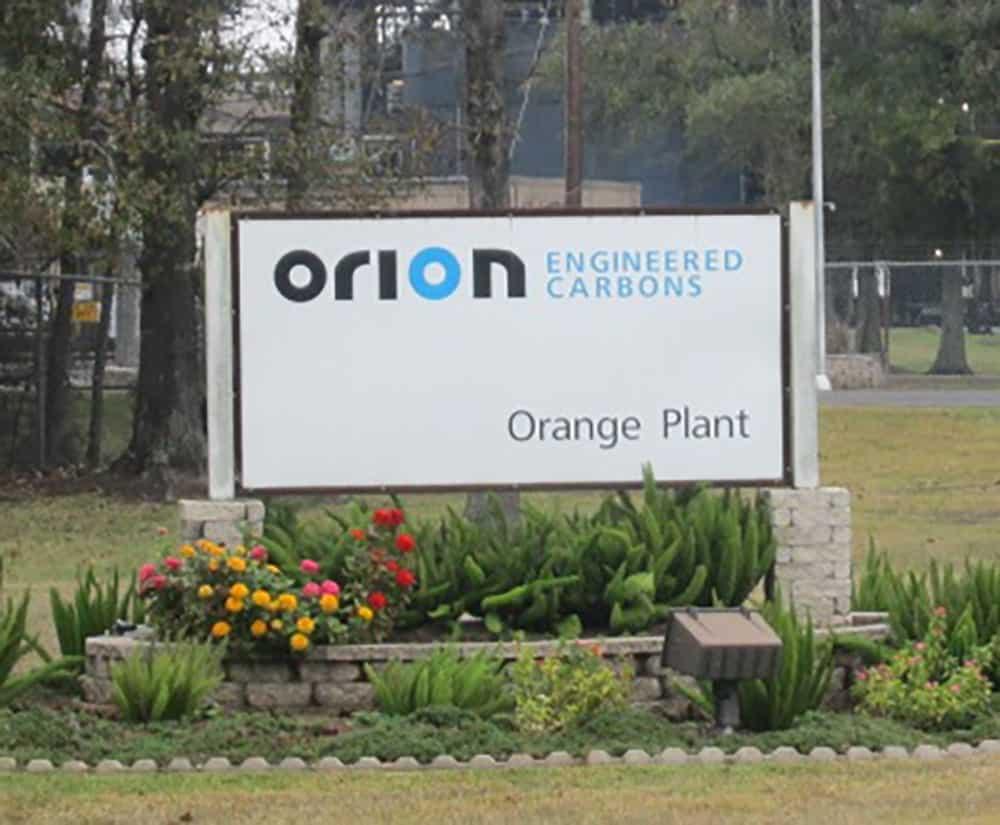 Orion facility in Orange Texas