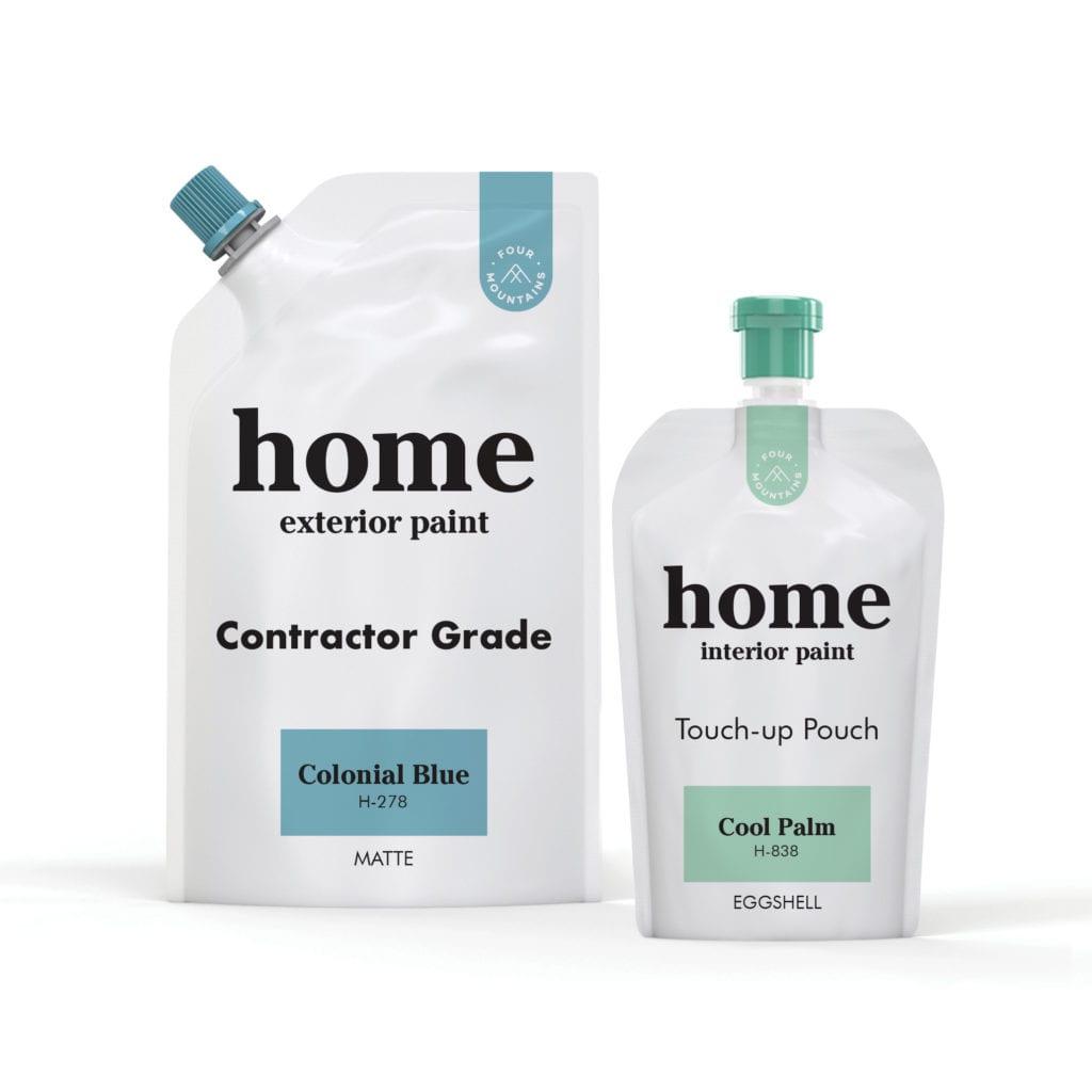 Home Paint Pouches