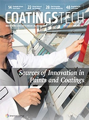 Cover of CoatingsTech magazine