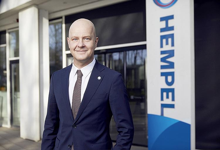 Hempel CEO Lars Petersson