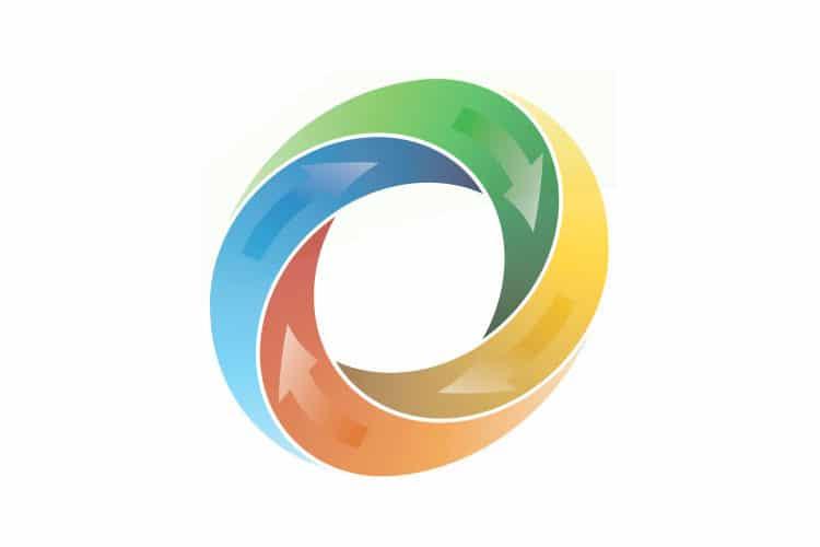 multi-color circle