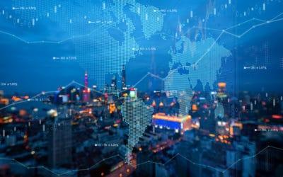 global communication network concept