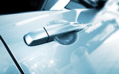 abstract car door handle