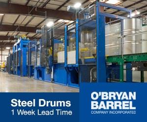 O'Bryan Barrel Steel drums