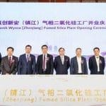 Operations Begin at Evonik Wynca Fumed Silica Plant in Zhenjiang, China